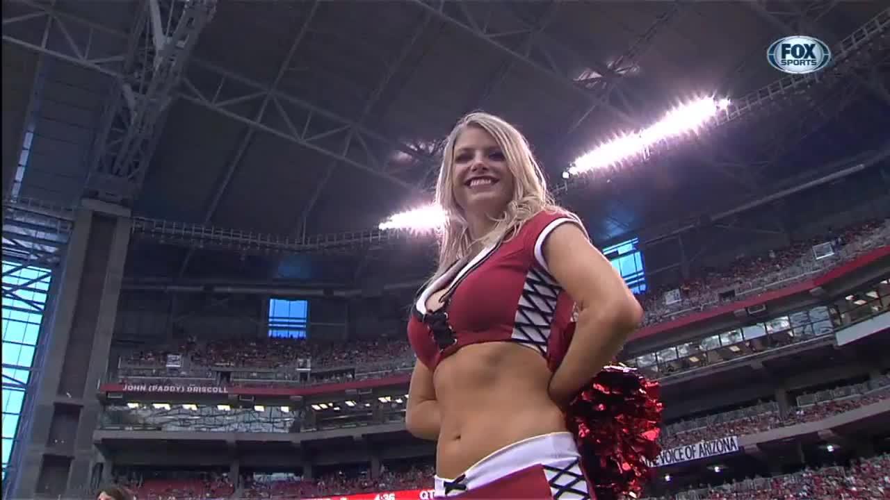 nfl, preseason, Arizona Cardinals cheerleader GIFs