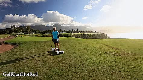 Watch Surfer Laird Hamilton Rides The GolfBoard Stand Up Golf Cart GIF by @pimpy1 on Gfycat. Discover more Golf, GolfBoard, surfing GIFs on Gfycat