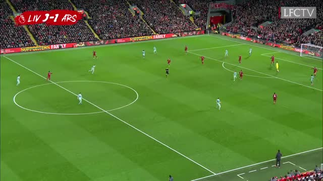 Watch Firmino scores 'no look' goal | Liverpool 5-1 Arsenal | Highlights GIF on Gfycat. Discover more Anfield, LFC, Liverpool, Liverpool FC, Liverpool Football Club, Melwood, firmino goal, firmino goal vs arsenal, firmino no look goal, premier league GIFs on Gfycat
