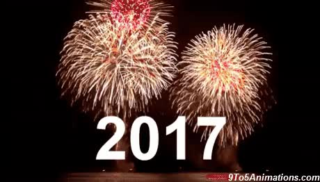 Watch and share 2017 New Year Gif | HD Wallpapers, Gifs, Backgrounds, Images GIFs on Gfycat