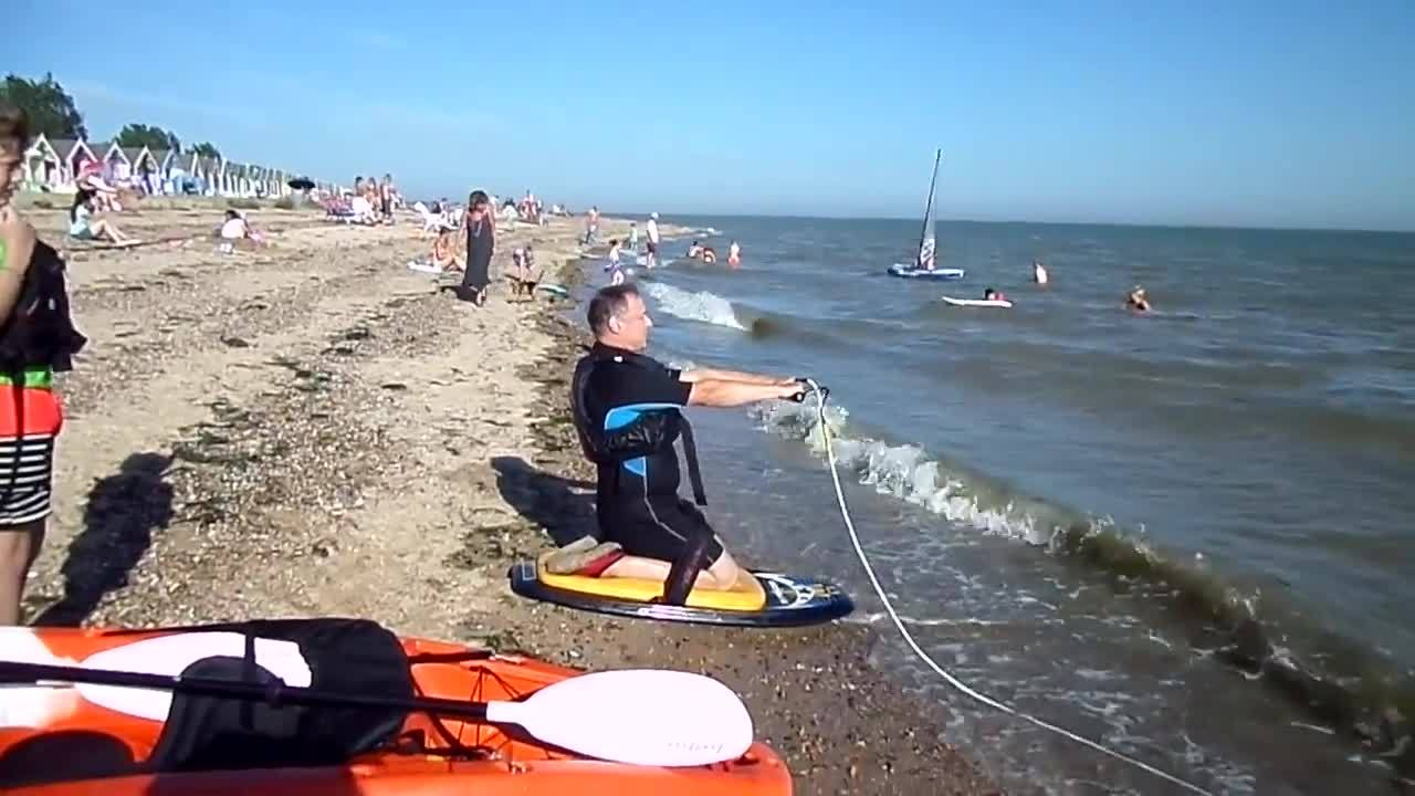 whatcouldgowrong, Man Faceplants at the Beach GIFs