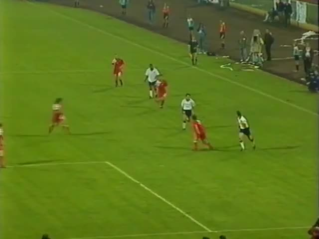 Watch and share Poland V England World Cup Qualifier 1993 GIFs on Gfycat