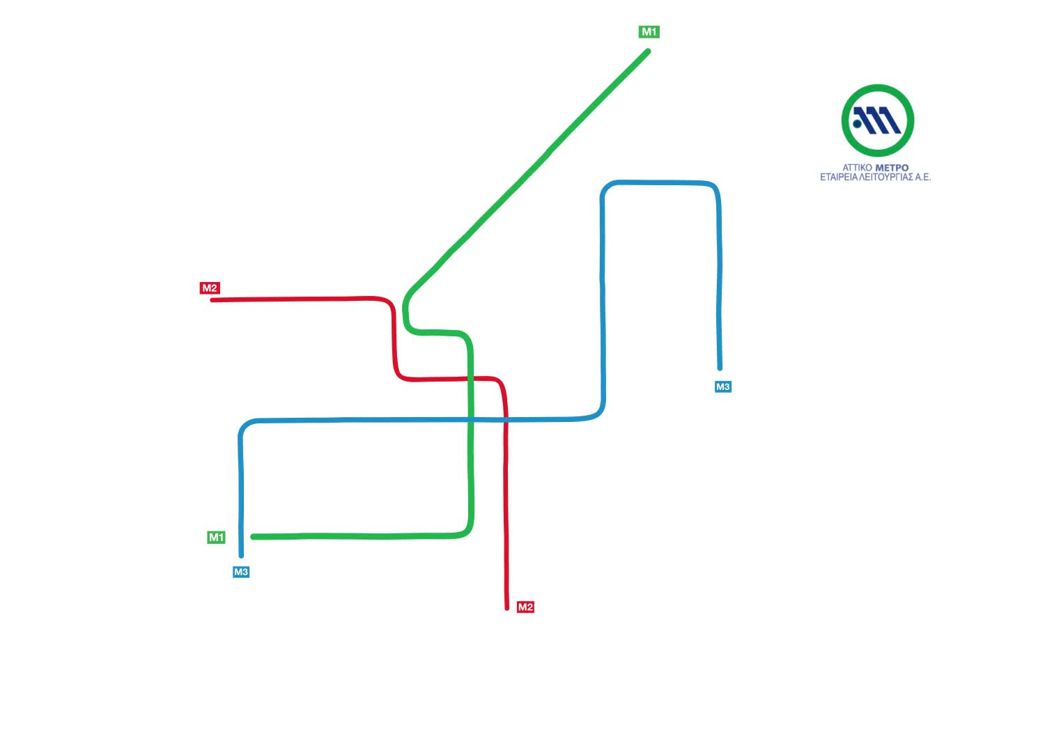 athens, dataisbeautiful, Athens Metro Map vs Actual Geography GIFs
