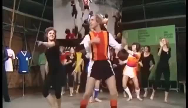 Watch and share Strange German Soccer Fashion Dance Show (1970s) GIFs on Gfycat