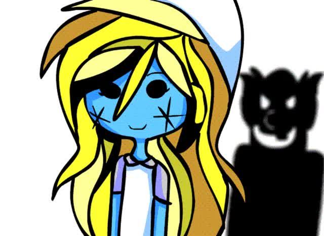 Watch and share Smurfette .:Dark Smurf Circus Gif:. By TairusuKU GIFs on Gfycat