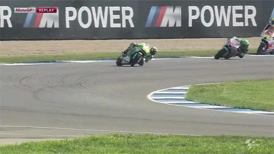 Watch and share Motogp GIFs and Crash GIFs by svullo on Gfycat
