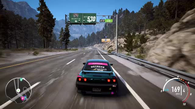 Watch and share Need For Speed Payback Rainbow Nitrous GIFs on Gfycat