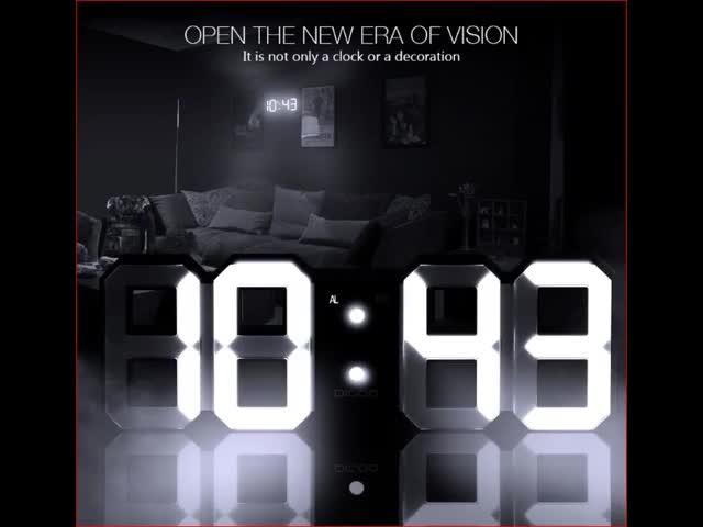 Watch 3D LED Digital Wall Clock GIF by Hashtag Sales (@malik007) on Gfycat. Discover more 3d, Alarm, alarm clock, cheap, cheapest, clock, digoo, new, newest, trending GIFs on Gfycat