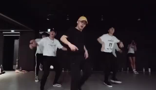Watch and share Ko Ko Bop - EXO / Kasper X Mihawk Back Choreography GIFs on Gfycat