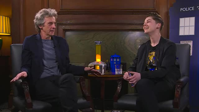 Watch Peter Capaldi On The Fan SHow GIF on Gfycat. Discover more Twelfthdoctor, bbc, doctorwho, petercapaldi GIFs on Gfycat