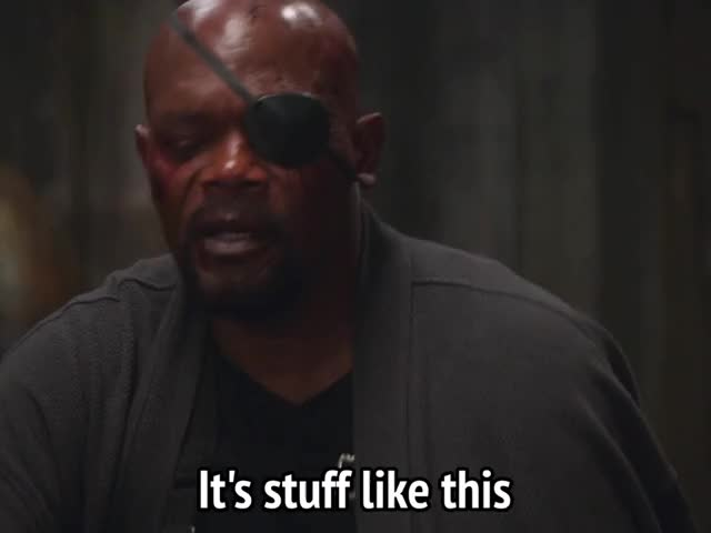Watch and share Captain America Winter Soldier GIFs and Samuel L Jackson GIFs by MikeyMo on Gfycat