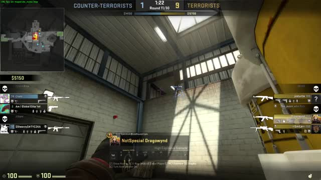 Watch and share CS:GO: HE Swag GIFs on Gfycat