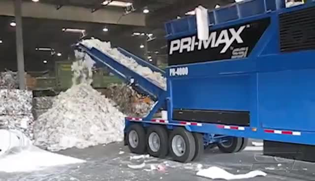 Watch and share Paper Shredding: Industrial Rolls (P) GIFs on Gfycat
