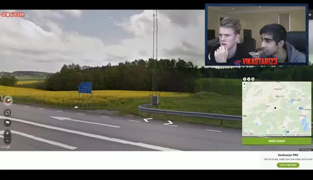 FLAGS HUNTING! - GEOGUESSR with Vikk & Lachlan (GeoGuessr Challenge)