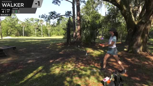 Watch Quarterfinals 2018 DGPT Championship - Madison Walker hole 4 putt GIF by Benn Wineka UWDG (@bennwineka) on Gfycat. Discover more Sports, dgpt, disc golf, disc golf pro tour GIFs on Gfycat