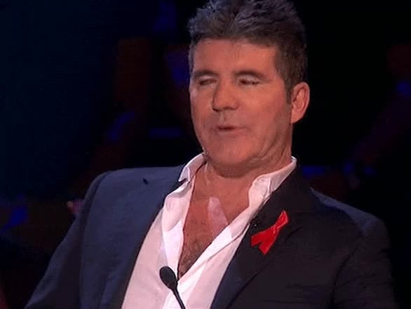 Watch and share Simon Cowell GIFs on Gfycat