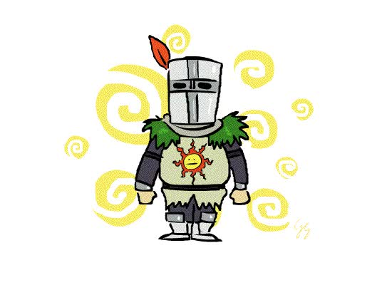 Watch and share Solaire Sun By Misterfeelgood GIFs on Gfycat