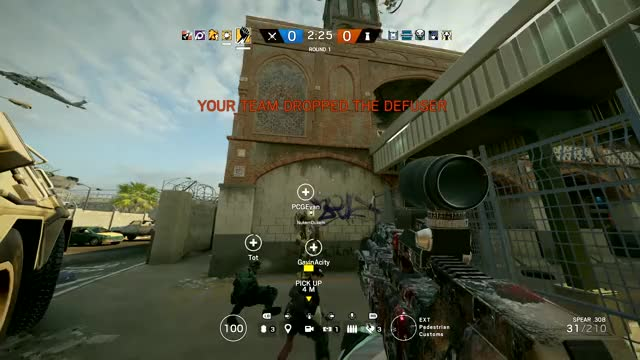 Watch and share Rainbow Six Siege GIFs and Funny Moments GIFs on Gfycat