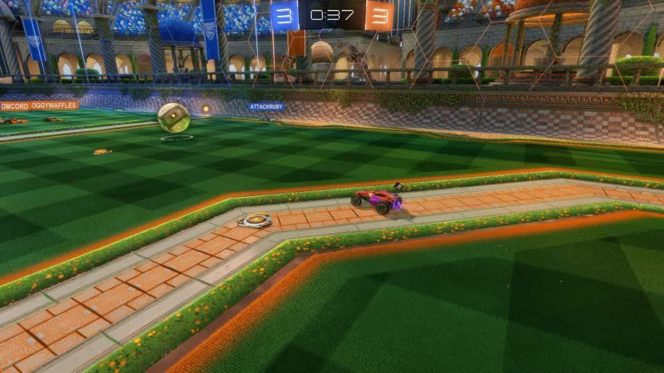 gaming, rlstrategy, rocketleague, Game winning dribble. GIFs