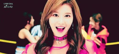 Cute, Kpop, Peace, Sana, twice, Sana Peace GIFs