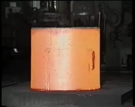 Watch and share Forging, Ring Rolling, Open-Die Forging, Hammer Forging-Kihlsteel.se GIFs on Gfycat
