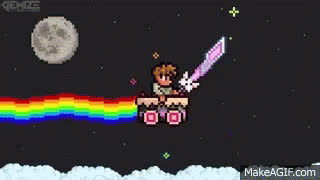 Terraria Nyan GIFs