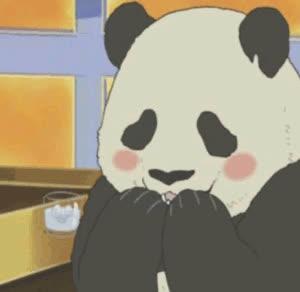 manga panda GIFs
