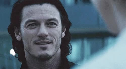 Watch and share Luke Evans GIFs on Gfycat