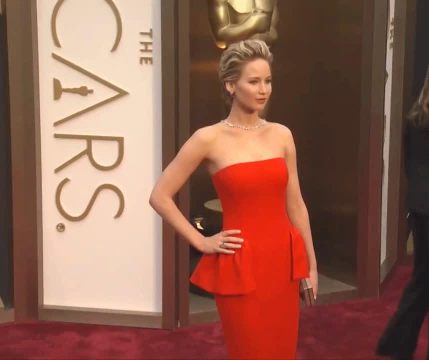 celebs, jennifer lawrence, red carpet, Jennifer Lawrence GIFs