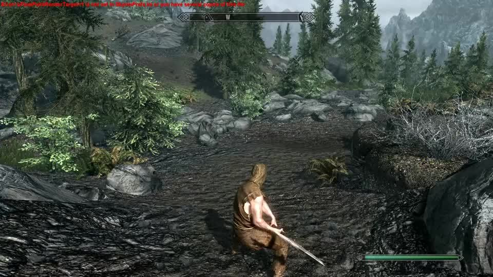 skyrimmods, 2H Axe/Hammer running animations broken, even in vanilla? (reddit) GIFs