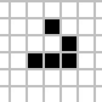 Watch and share Game Of Life Animated Glider GIFs on Gfycat