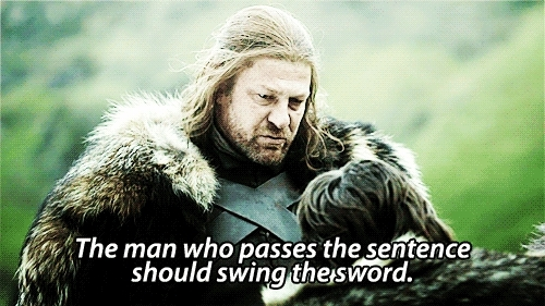 eddard stark, game of thrones, got, hbo, ned stark, sean bean, Winter is coming GIFs