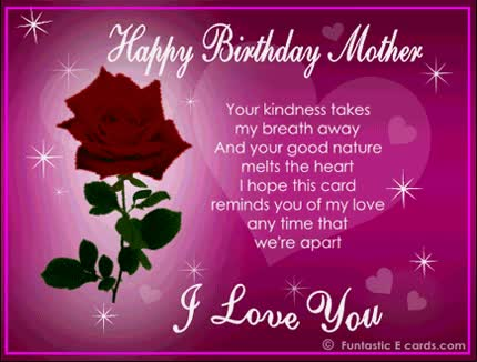 Watch and share Happy Birthday Mom Wishes GIFs on Gfycat