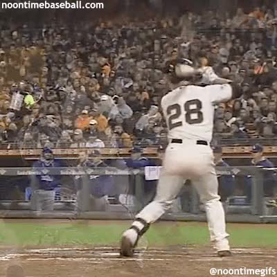 Watch Buster Posey - Rearview GIF by @noontimebaseball on Gfycat. Discover more related GIFs on Gfycat