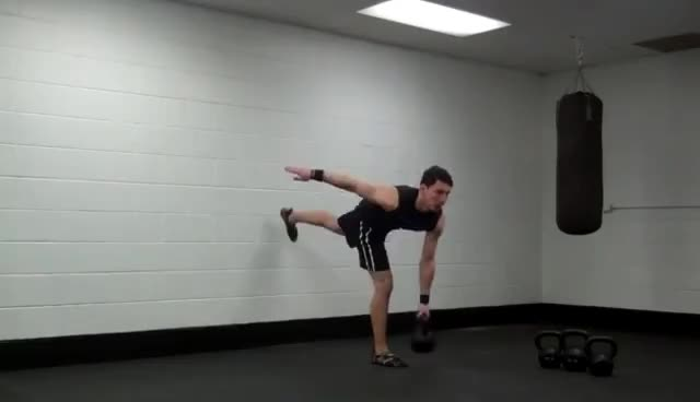 47 lying down kettlebell tricep extensions GIFs