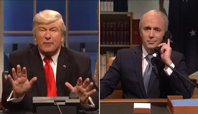Watch and share Oval Office Cold Open - SNL GIFs on Gfycat