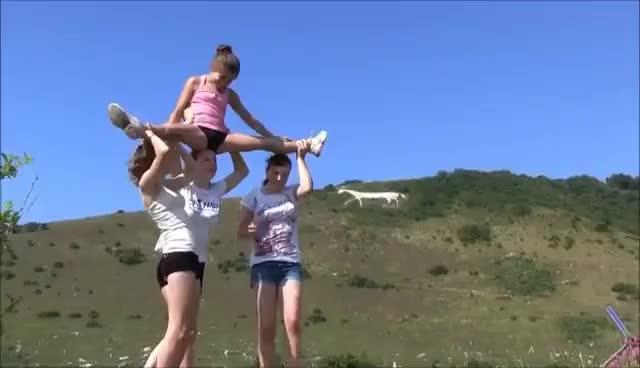 Watch Acrobatic gymnastics, GIF on Gfycat. Discover more gymnastics GIFs on Gfycat