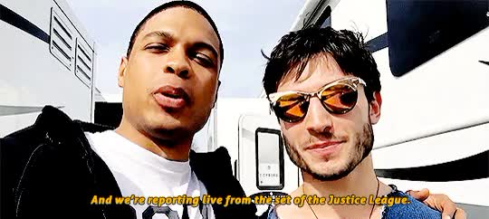 Watch and share Ray Fisher GIFs on Gfycat
