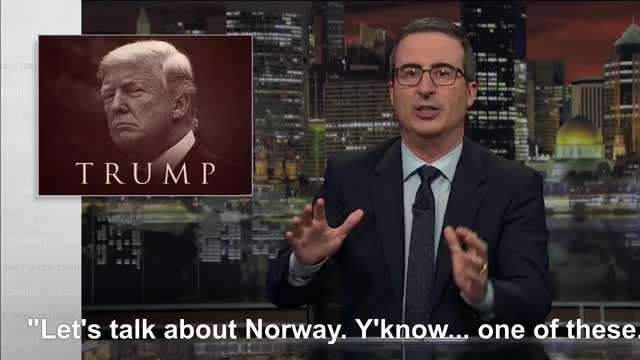 Watch Norway! Y'know... GIF on Gfycat. Discover more donald trump, john oliver GIFs on Gfycat