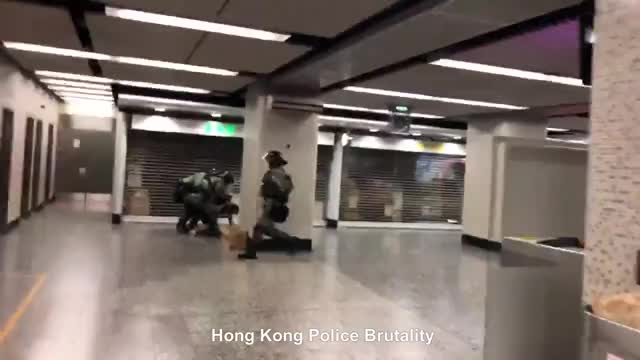 Watch and share Hong Kong Police Brutality GIFs on Gfycat