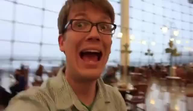 Watch and share Hank Green GIFs and Aaahhh GIFs on Gfycat