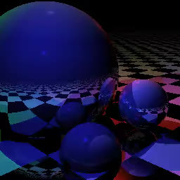SurrealGifs, surrealgifs, Was messing with some raytracer example code and decided to make an animation where the scene is adjusted slightly each frame... (reddit) GIFs