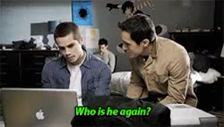 Watch this GIF on Gfycat. Discover more I love cousin miguel, cousin miguel, cousin miguel is back, danny mahealani, derek hale, dylan o'brien, funny, funny scene, ian nelson, keahu kahuanui, looool, matthew del negro, miguel, mr mccall, my cousin, parallels, rafael mccall, so funny, stiles stilinski, teen wolf, tyler hoechlin, what's your name?, who is he again?, young derek hale GIFs on Gfycat