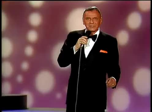 """Watch and share Frank Sinatra - """"Theme From New York New York"""" (Concert Collection) GIFs on Gfycat"""