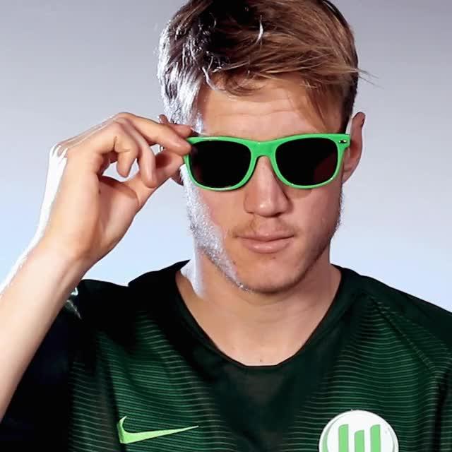 Watch and share 9 Sunglas3 GIFs by VfL Wolfsburg on Gfycat