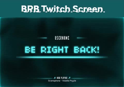 Watch and share Twitch Overlay GIFs and Be Right Back GIFs by TwitchStorm.com on Gfycat