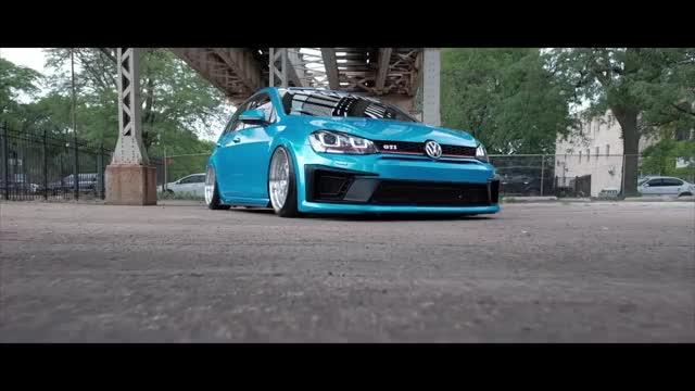Watch 2015 VW GTI // All Bagged OUT! GIF on Gfycat. Discover more Bagged GTI, Bagged VW GTI Mk7, Bagged vs. coils, Built 05 STI, Mark 7 GTI, Regen wheels, Regen5 wheels, Stanced GTI, VW GTI, Volkswagon GTI Mk 7 GIFs on Gfycat