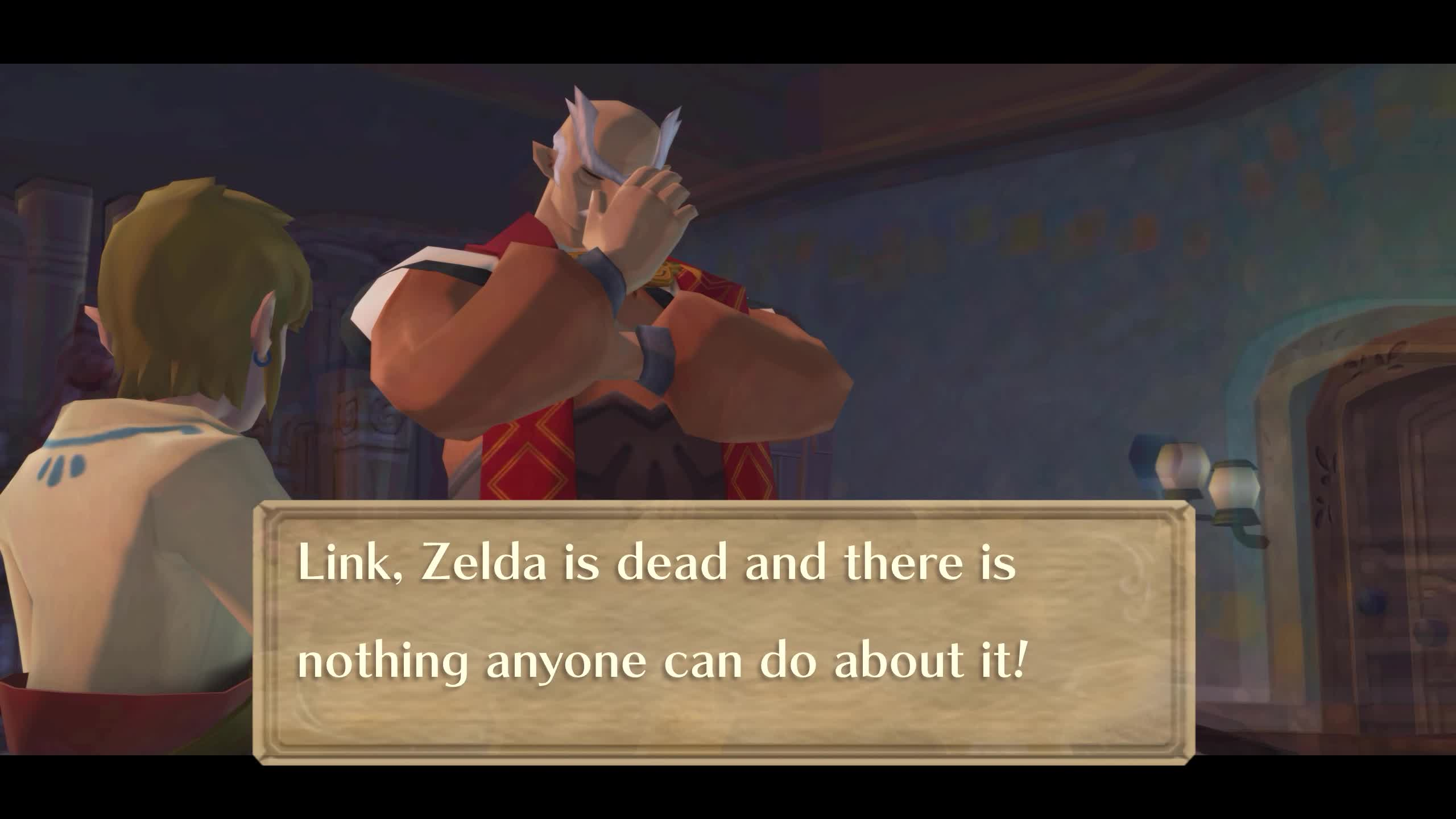 Link, Zelda is dead and there is nothing anyone can do about it! GIFs