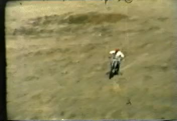 Watch and share Dad Doing One Handed Wheelies On His Bultaco In The 70's GIFs by fescen9 on Gfycat