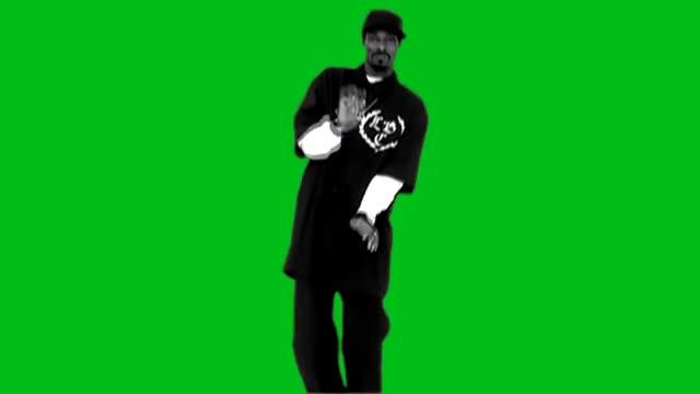 "Watch and share Snoop Dogg ""Drop It Like It's Hot"" Dance Green Screen GIFs on Gfycat"
